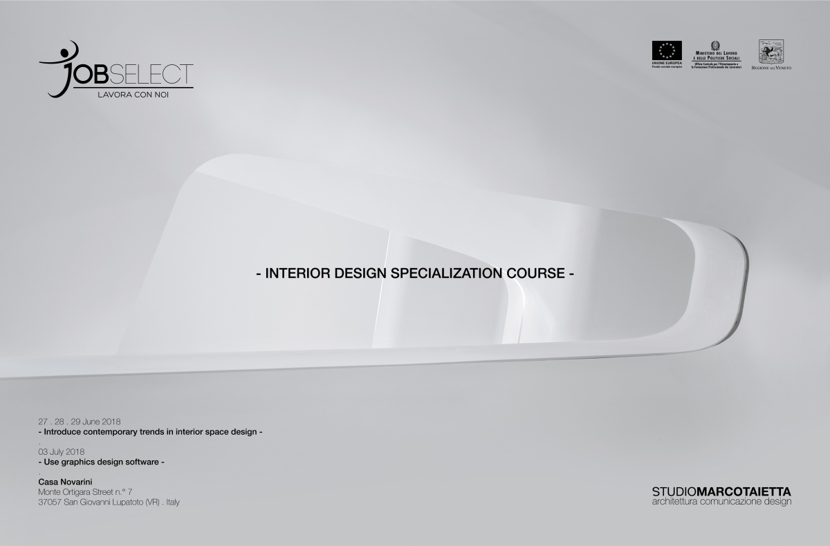 Interior Design Course . June-July 2018