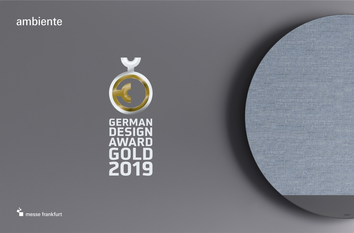 German Design Award Gold . 2019